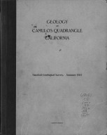 Geology of Camulos quadrangle, California, Geology of Camulos quadrangle, California