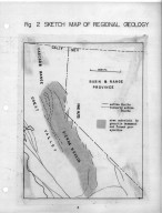 The geology of the Swauger Creek-Masonic mountain area, The geology of the Swauger Creek-Masonic mountain area
