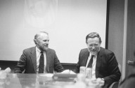 Adobe co-founders John Warnock (left) and Chuck Geschke., Adobe co-founders John Warnock (left) and Chuck Geschke.
