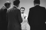 Adobe Vice President Jim Stephens (in white shirt) with colleagues., Adobe Vice President Jim Stephens (in white shirt) with colleagues.
