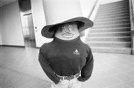 An Adobe employee ready for Halloween., An Adobe employee ready for Halloween.