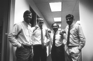 Sun Microsystems co-founder Scott McNealy and colleagues., Sun Microsystems co-founder Scott McNealy and colleagues.