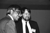 Farallon Computing Founder Reese Jones (right) at Macworld Expo., Farallon Computing Founder Reese Jones (right) at Macworld Expo.