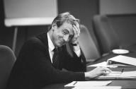 Venture capitalist John Doerr, an original Sun investor and a member of Sun's Board of Directors, during an August 1992 Board meeting., Venture capitalist John Doerr, an original Sun investor and a member of Sun's Board of Directors, during an August 1992 Board meeting.