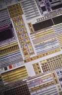 A circuit board., A circuit board.