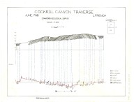 Cross section of Cockrill Canyon, Monterey Co., California, Cross section of Cockrill Canyon, Monterey Co., California