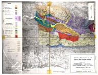 Geologic map of part of the Santa Ynez River Region, Geologic map of part of the Santa Ynez River Region