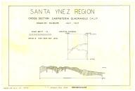 Santa Ynez region traverse ... Carpinteria quad, Santa Ynez region traverse ... Carpinteria quad