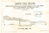 Santa Ynez region: cross section Camino Cielo to Blue Canyon, Little Pine Mountain & Santa Barbara quadrangles, Calif., Santa Ynez region: cross section Camino Cielo to Blue Canyon, Little Pine Mountain & Santa Barbara quadrangles, Calif.