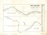 Santa Ynez region pace-compass traverse west of Romero Saddle, Carpenteria, Calif. quad., Santa Ynez region pace-compass traverse west of Romero Saddle, Carpenteria, Calif. quad.
