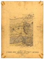 Geologic map of area ... , Candelaria Mining District, Nevada, Geologic map of area ... , Candelaria Mining District, Nevada