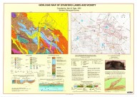 Geologic map of Stanford lands and vicinity, Geologic map of Stanford lands and vicinity