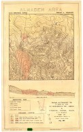 Geologic and topographic map of square mile near New Almaden Quicksilver Mine, California, Geologic and topographic map of square mile near New Almaden Quicksilver Mine, California