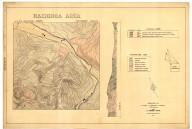 Hacienda area topography and geology, Hacienda area topography and geology
