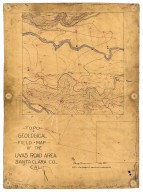 Topo, geological field map of the Uvas Road area, Santa Clara Co., Cal., Topo, geological field map of the Uvas Road area, Santa Clara Co., Cal.