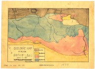 Geologic map of region south of L.S.J.U., Geologic map of region south of L.S.J.U.