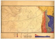 Geologic and topographic map of the region S.W. of Stanford University, Geologic and topographic map of the region S.W. of Stanford University