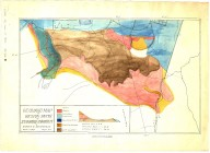Geologic map of region south of Stanford University, Geologic map of region south of Stanford University