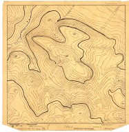 [Topographic map of area near Stanford University], [Topographic map of area near Stanford University]