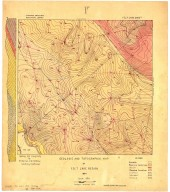Geologic and topographic map of Felt Lake Region, Geologic and topographic map of Felt Lake Region