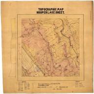 Topographic map Hooper lake sheet, Topographic map Hooper lake sheet