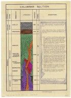 Geology of the St. Johns Quicksilver District., Geology of the St. Johns Quicksilver District.
