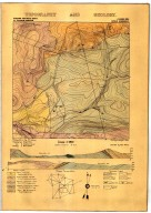 Geology and topography of the Cochino area [Camulos quadrangle], Geology and topography of the Cochino area [Camulos quadrangle]