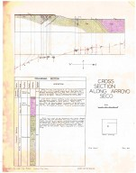 Cross section along Arroyo Seco, Cross section along Arroyo Seco