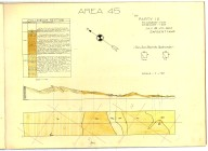 Cross section - Areas 43 and 49, [Sargent Oil Fields], Cross section - Areas 43 and 49, [Sargent Oil Fields]