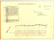 Cross section for area H1, [Mt. Hamilton quadrangle], Cross section for area H1, [Mt. Hamilton quadrangle]