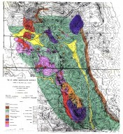 Geology of the St. Johns Quicksilver District, Napa & Solano Co., Calif., Geology of the St. Johns Quicksilver District, Napa & Solano Co., Calif.