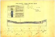 Cross section no. 36, Pozo quadrangle, Cross section no. 36, Pozo quadrangle