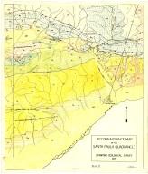 Reconnaissance map of the Santa Paula quadrangle, Reconnaissance map of the Santa Paula quadrangle