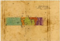 Sketch of East-West cross section of Station 44 line, [Winnemucca quadrangle], Sketch of East-West cross section of Station 44 line, [Winnemucca quadrangle]