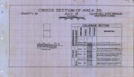 Cross section of area 40 [Santa Paula & Ventura quadrangles], Cross section of area 40 [Santa Paula & Ventura quadrangles]