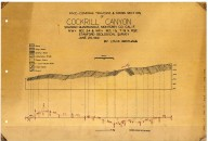 Cross section from compass-pace traverse of Cockrill Canyon, Soledad quadrangle, Monterey County, Cal. ..., Cross section from compass-pace traverse of Cockrill Canyon, Soledad quadrangle, Monterey County, Cal. ...