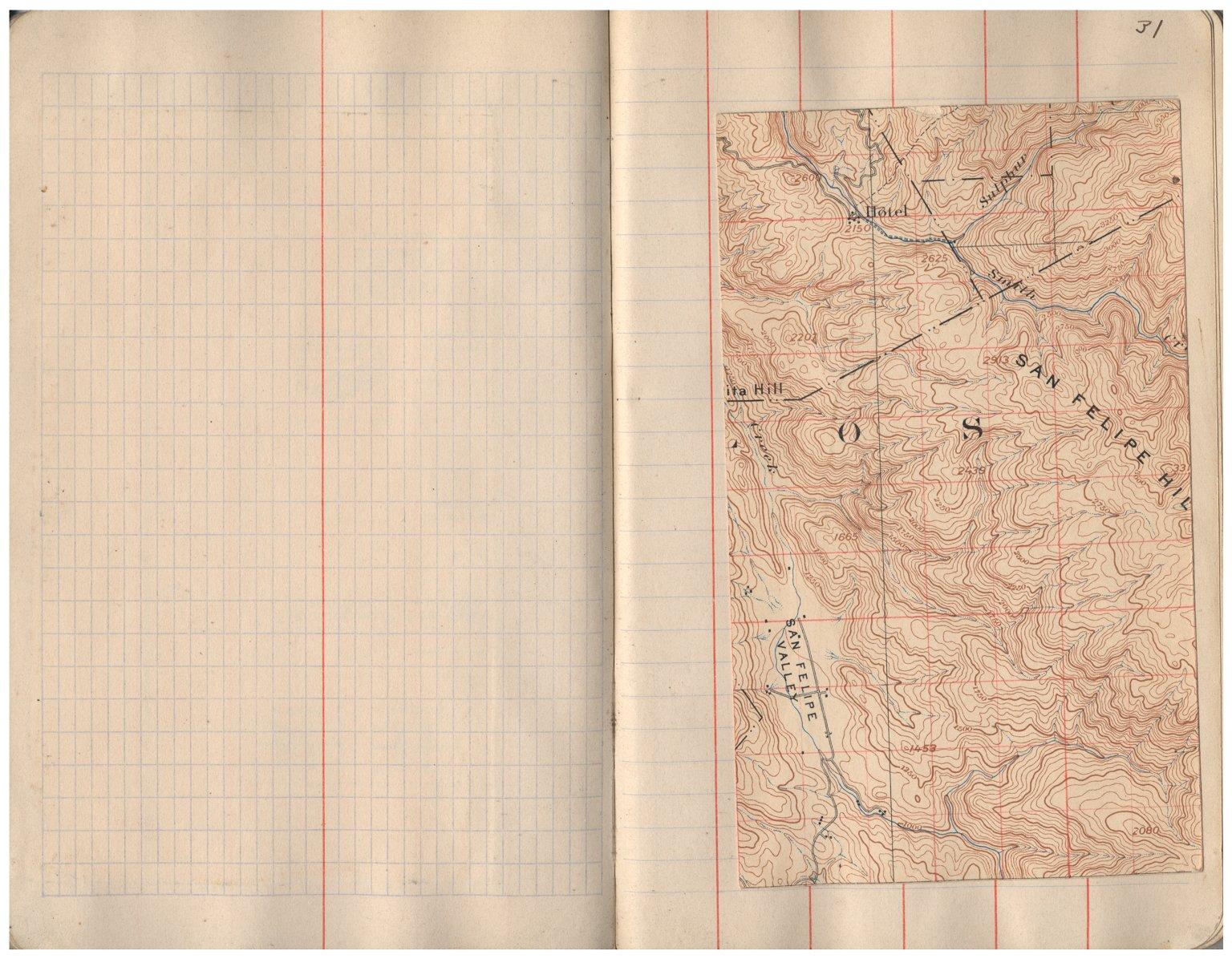 Mt. Hamilton & Pleasanton sheets : 1906