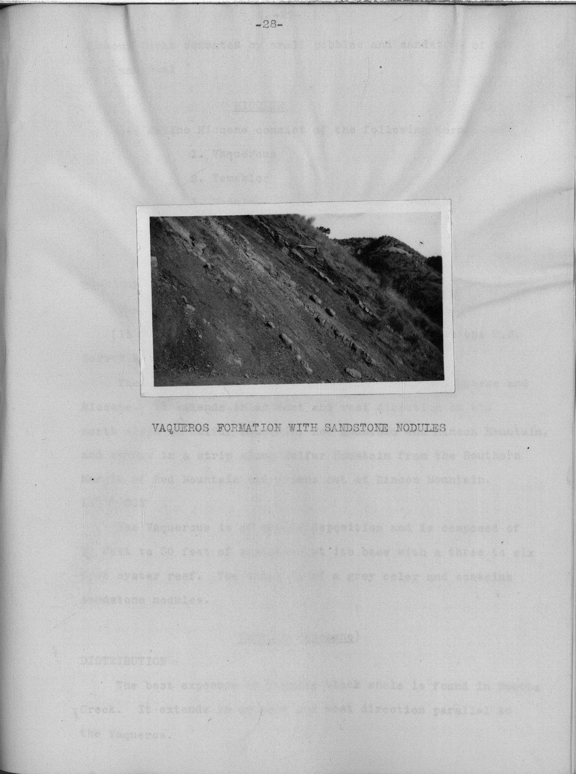 Geology of the Ventura quadrangle