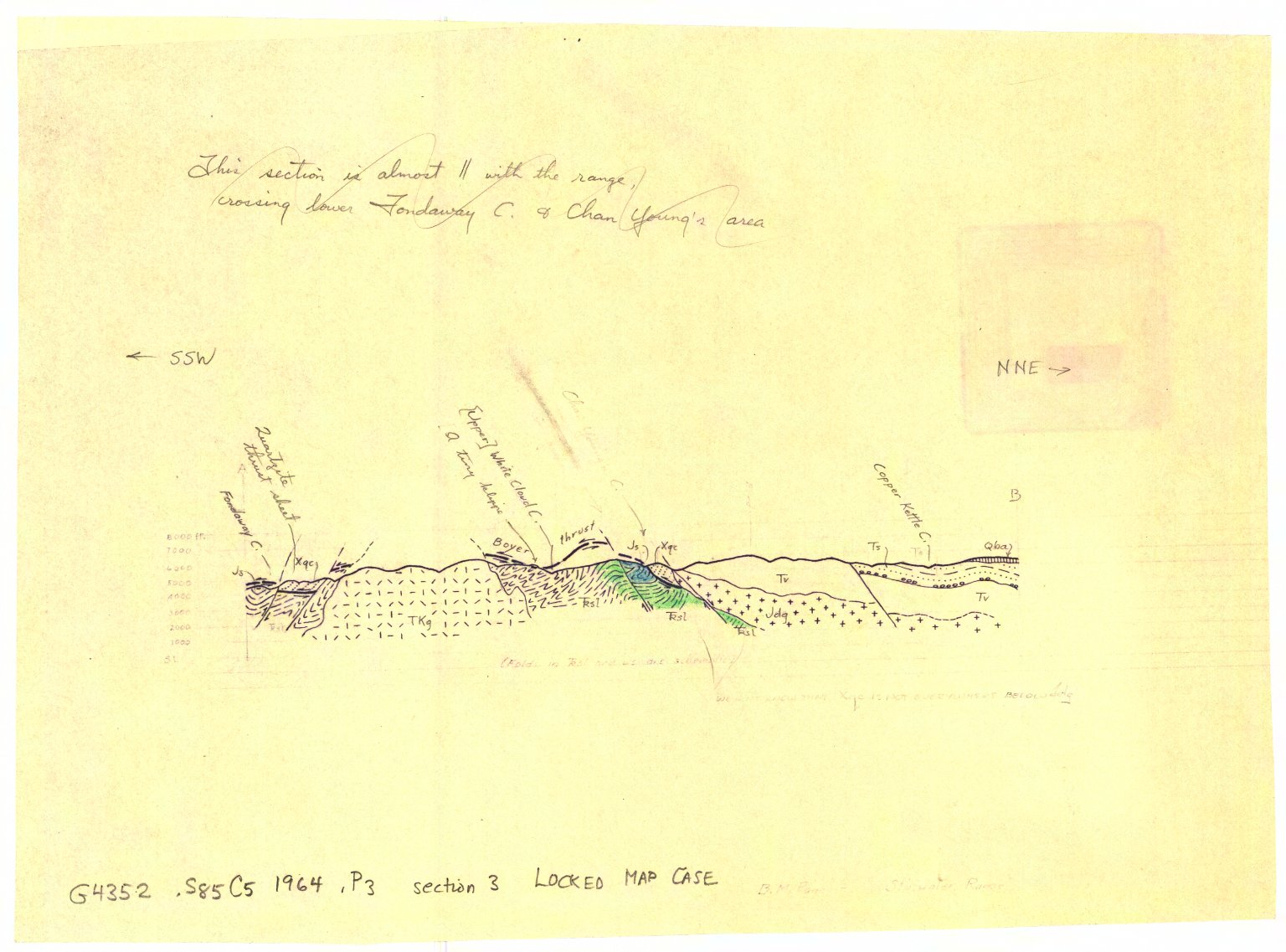 Preliminary geologic map of a part of the Stillwater Range, Churchill County, Nevada