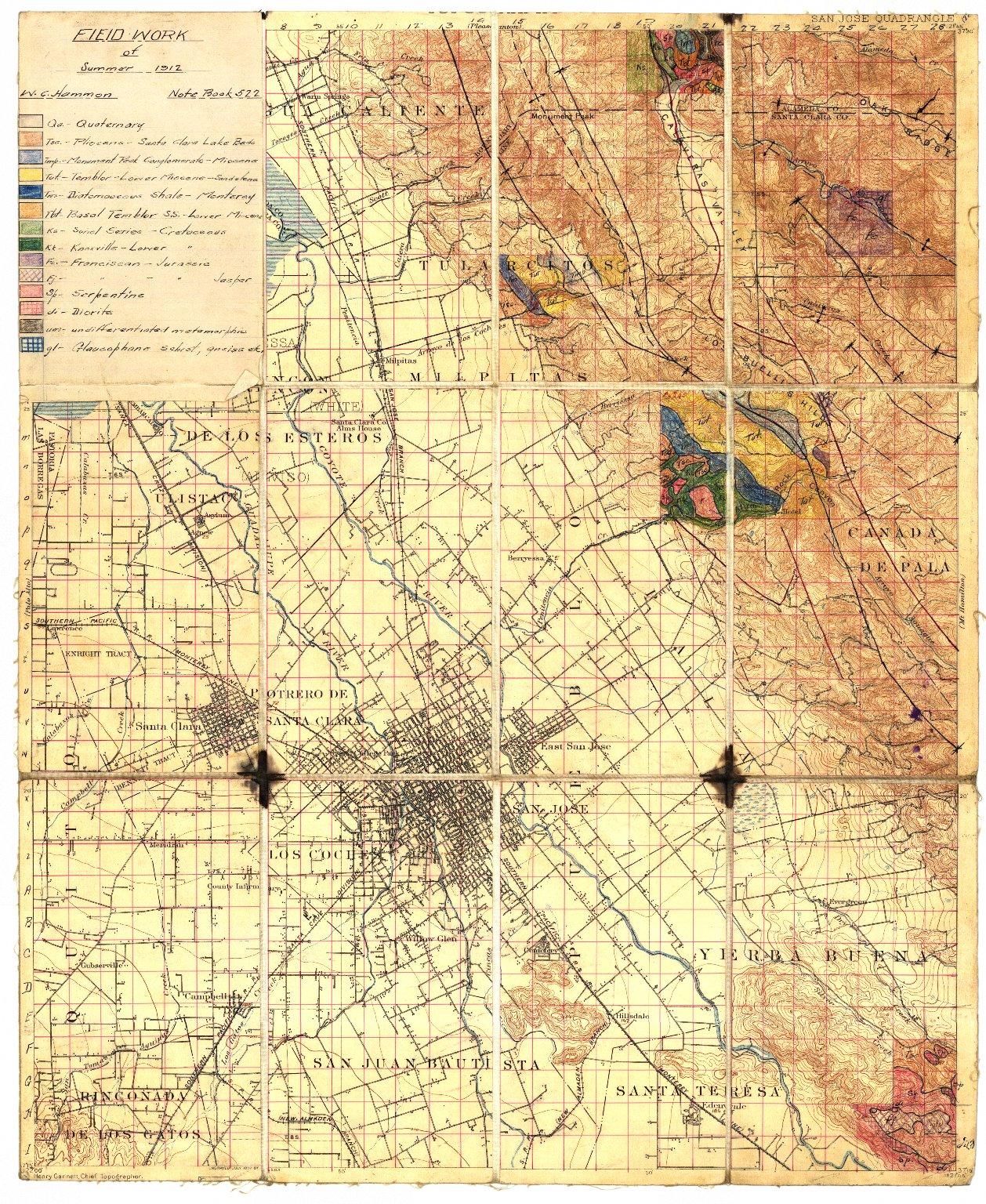 San Jose quadrangle