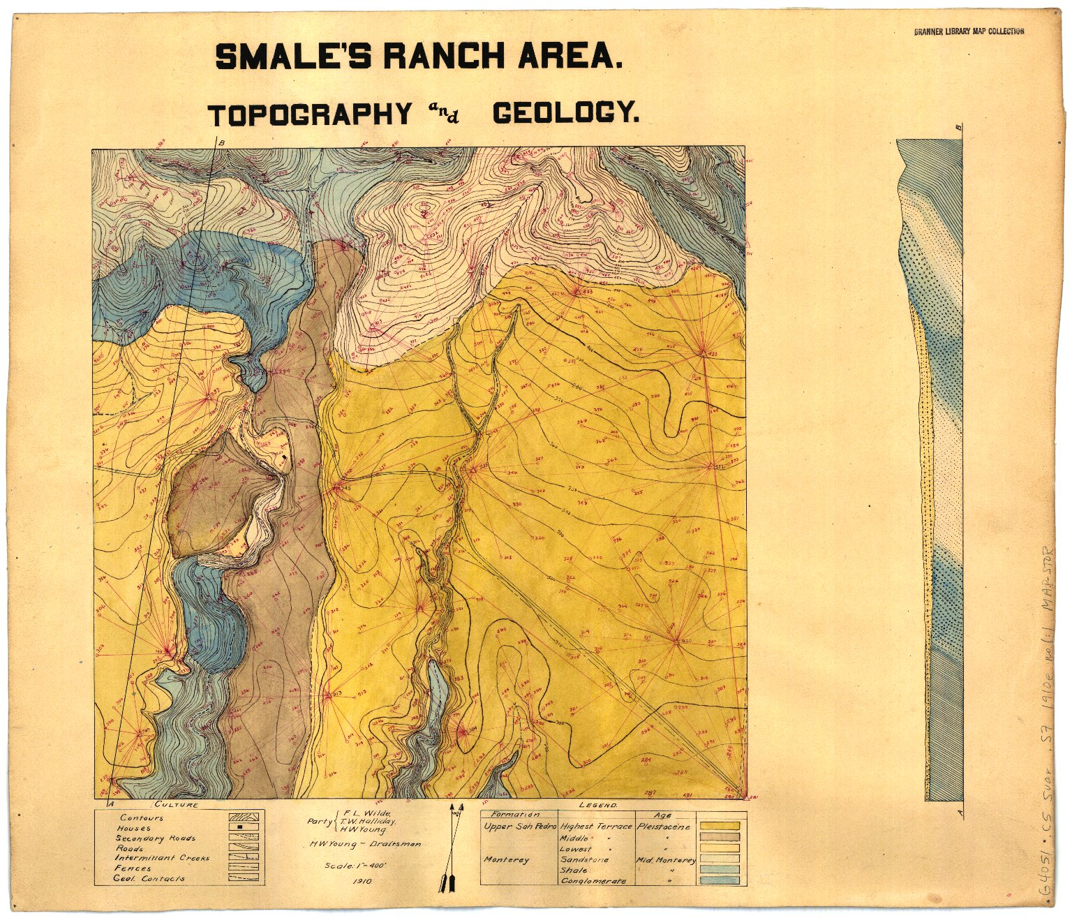 Smale's ranch area