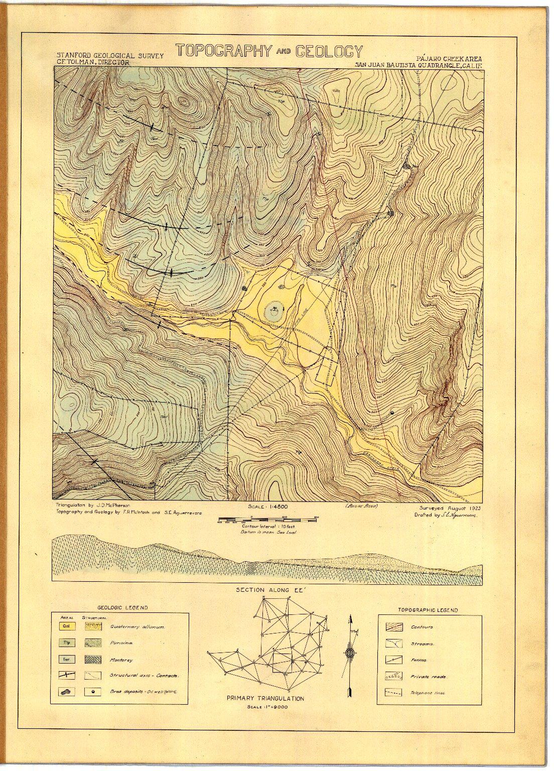 Geologic folio of a part of the San Juan Bautista quadrangle.