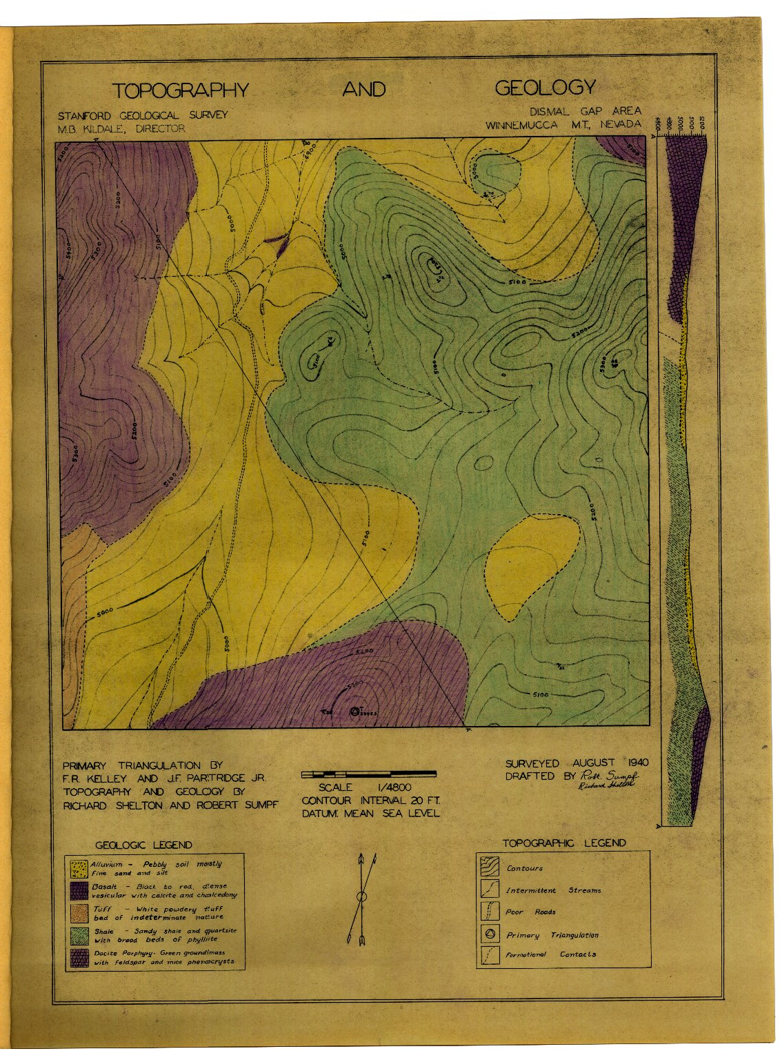 Geologic folio of a part of Humboldt County, Nevada