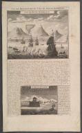 Vue et Description du Cap de Bonne Esperance., Vue et Description du Cap de Bonne Esperance.