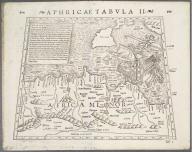 Aphricae Tabula II., Aphricae Tabula II.