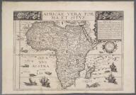 Africae Vera Forma, et Situs., Africae Vera Forma, et Situs.