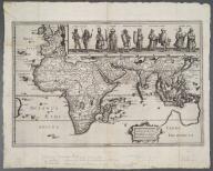 Tabula Geograph in qua Europe, Africae, Asia et circu ..., Tabula Geograph in qua Europe, Africae, Asia et circu ...