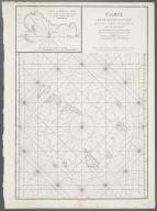 Carte des Isle de Cap-Verd. Plan de la Rade de la Praye., Carte des Isle de Cap-Verd. Plan de la Rade de la Praye.