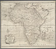 A new and correct map of Africa. Drawn from the most approved modern maps and charts, and adjusted by astronomical observations representing also the course of the Trade Winds, Monsoons &c., A new and correct map of Africa. Drawn from the most approved modern maps and charts, and adjusted by astronomical observations representing also the course of the Trade Winds, Monsoons &c.