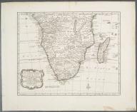 Nieuwe en Naauwkerige Kaart van het Zuidlyk Gedeelte van Africa ... verbeeterd door W.A. Bachiene., Nieuwe en Naauwkerige Kaart van het Zuidlyk Gedeelte van Africa ... verbeeterd door W.A. Bachiene.